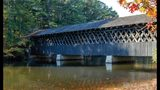 The covered bridge at Stone Mountain Park. (Photo: Stone Mountain Memorial Association)
