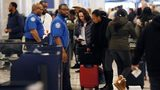 TSA employees continued to work the security lines at Hartsfield-Jackson Atlanta International Airport as the federal shutdown continued.