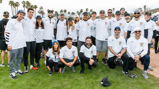 Photos: Celebrities hit the diamond for California Strong