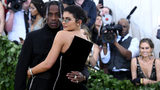 Recording artist Travis Scott and Kylie Jenner attend the Heavenly Bodies: Fashion & The Catholic Imagination Costume Institute Gala at The Metropolitan Museum of Art on May 7, 2018 in New York City.  (Noam Galai/Getty Images for New York Magazine)