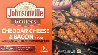 Johnsonville ground pork patties recalled over possible rubber contamination