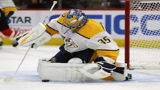 Teen in cancer remission practices with Nashville Predators
