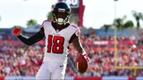 Calvin Ridley of the Atlanta Falcons. (Photo: Julio Aguilar/Getty Images)