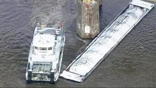 Barges break loose, force Pittsburgh bridges to close