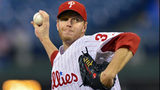 Roy Halladay won 205 games during his 16-year major-league career. Photo: Drew Hallowell/Getty Images