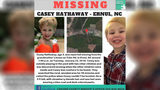 This undated image provided by the Craven County Sheriff's Office shows an online poster for missing Casey Lynn Hathaway.