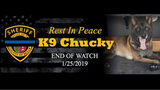 Chucky, a K9 for five years with Bexar County Sheriff's Office, was fatally shot Friday. (Photo: Bexar County Sheriff's Office)