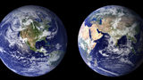 The difference between climate and weather is essentially time. Weather refers to short-term conditions in a region, such as humidity or snow. Climate is the average daily weather for extended periods, usually 30 years. Photo: NASA Earth Observatory