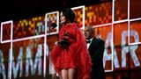 Kacey Musgraves accepts the Best Country Album award for 'Golden Hour' onstage during the 61st annual GRAMMY Awards at Staples Center on Feb. 10, 2019, in Los Angeles, California.