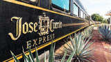Guests on the Jose Cuervo Express can drink all the tequila they want from the train's open tequila bar, depending on the trip that is purchased. Photo: Mundo Cuervo
