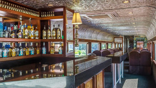 All aboard … the Jose Cuervo Express luxury train touts open tequila bar, distillery tour