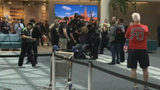 A passenger attempted to breach security at a TSA checkpoint at Orlando International Airport, an airport spokesperson said.