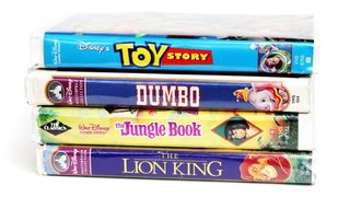 Could Vintage Disney VHS Tapes Be Worth A Fortune?