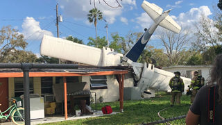 Flight instructor dies after aircraft crashes into Florida home, deputies say