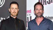 Colin Hanks shared a story about the first and only time he met actor Luke Perry.