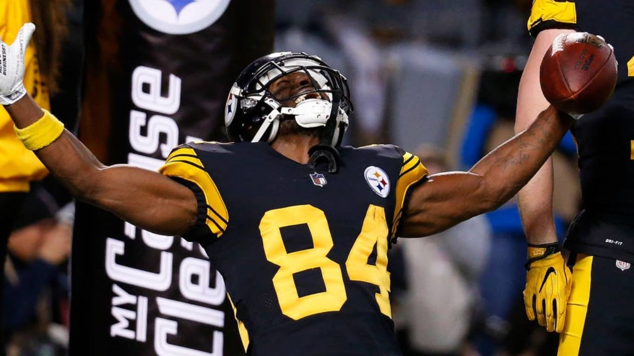 4f85bf1f0b6 Conflicting reports swirl as Steelers ponder trading Antonio Brown ...