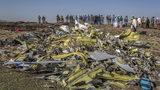 Wreckage is piled at the crash scene of an Ethiopian Airlines flight crash near Bishoftu, or Debre Zeit, south of Addis Ababa, Ethiopia, Monday, March 11, 2019. (AP Photo/Mulugeta Ayene)