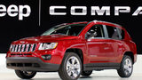 FILE PHOTO: The Jeep Compass was revealed at the 2011 North American International Auto Show January 10, 2011 in Detroit, Michigan. It is now under recall along with other Fiat Chrysler vehicles due to EPA regulations.