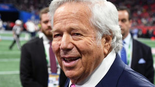 Patriots owner Robert Kraft won