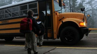 4th grader caught with loaded gun in backpack on school bus