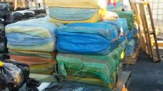 Coast Guard: 27,000 pounds of seized cocaine will be