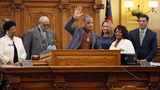 Rapper T.I. was recently honored by the Georgia Senate for his philanthropic work. (Photo: Bob Andres/The Atlanta Journal-Constitution)