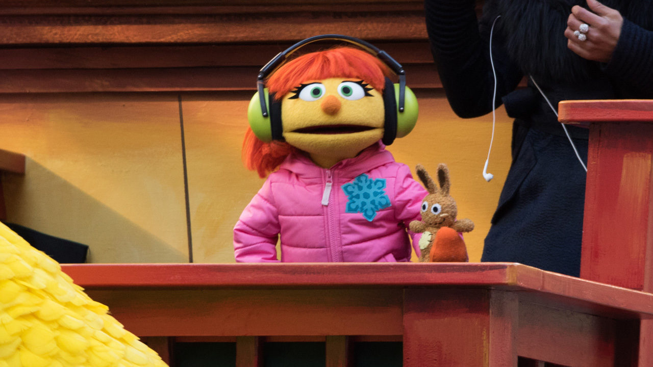 Sesame Street' introduces family of Julia, muppet with autism, for