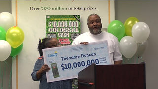 Grandfather plans to buy dream home after winning $10M lottery jackpot