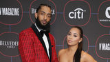 Nipsey Hussle and Lauren London attend the Warner Music Pre-Grammy Party at the NoMad Hotel on February 7, 2019 in Los Angeles, California. (Photo by Randy Shropshire/Getty Images for Warner Music)