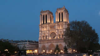 Paris France April 09 A Tourist Boat On The Seine River Passes By Notre Dame Cathedral On April 9 2017 In Paris France Paris Is Among Europes Most