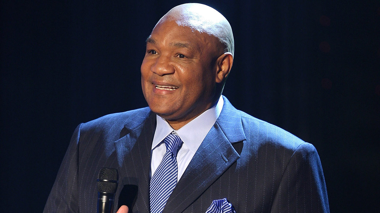 Fire erupts at home of former heavyweight boxing champ George