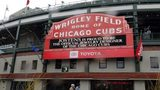 Snow and rain forced the cancellation of Sunday's baseball game at Wrigley Field.