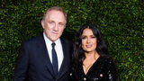 Francois-Henri Pinault and Salma Hayek attend the Charles Finch & Chanel pre-BAFTA's dinner at Loulou's on February 09, 2019 in London. Pinault made headlines after announcing he and his family would pledge $113M to rebuild Notre Dame Cathedral.