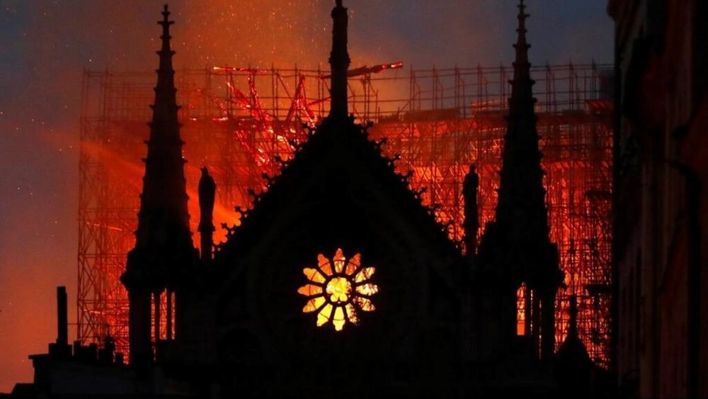 Notre Dame Cathedral fire: What religious relics were stored there