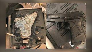 TSA: Man arrested at JFK airport hid gun inside DVD player