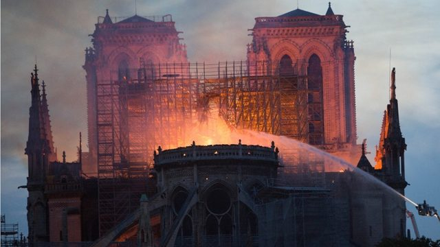 Notre Dame Cathedral Fire Nearly 1 Billion Pledged For