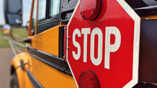 7-year-old boy fatally hit by van moments after stepping off school bus