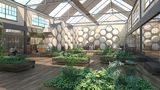 Artist vision of a Recomposition facility (Courtesy: MOLT Studios via KIRO7.com)