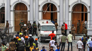 Sri Lanka explosions: Easter Sunday blasts kill more than 200, social media blocked across country