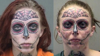 Ohio Woman With Face Tattoos Goes Viral Again After Arrest