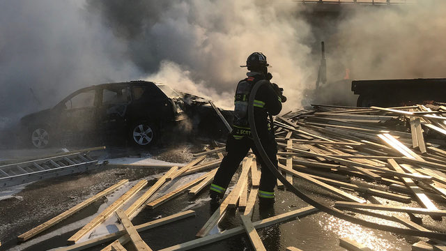 Fiery crash on Colorado interstate causes 'multiple deaths