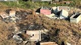 Nearly 20 beehives were damaged and burned by vandals over the weekend in Texas.