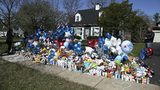 "A memorial grows April 25, 2019, outside the Crystal Lake, Ill., home of Andrew ""AJ"" Freund Jr., 5, who was reported missing by his parents Thursday, April 18, 2019, in Crystal Lake, Ill. Photo: Stacey Wescott/Chicago Tribune via AP"