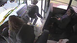 WATCH: School Bus Driver Grabs Student Before He Could be Hit by Car