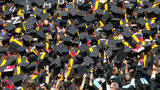 FILE PHOTO: A high school in Ohio is getting rid of valedictorian and salutatorian designations.