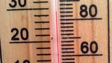 Stock photo of a thermometer.