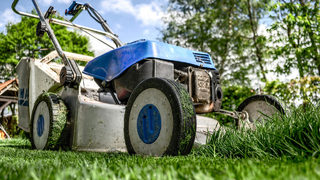 Man hurt mowing lawn, firefighter finishes yard work