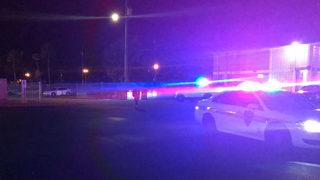 Massive brawl between students, adults inside Florida high school
