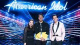 """American Idol"" finalists Madison Vandenburg (left), Alejandro Aranda and Laine Hardy."