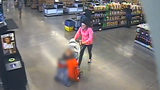 WATCH: Police Looking for Woman Who Abandoned Toddler in Parking Lot